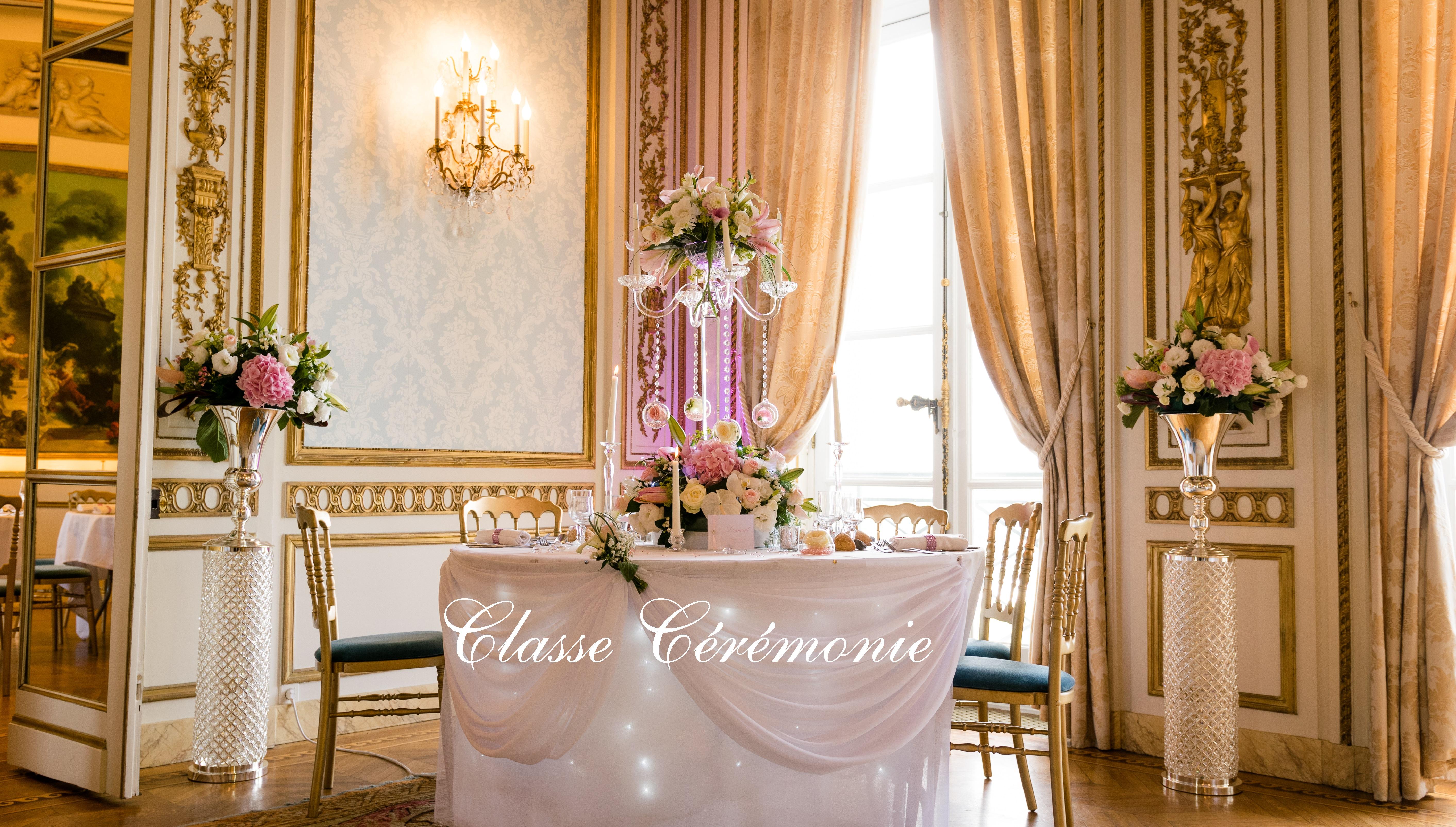 Classe Ceremonie Idees Deco Val D Oise 95 Arnouville Les