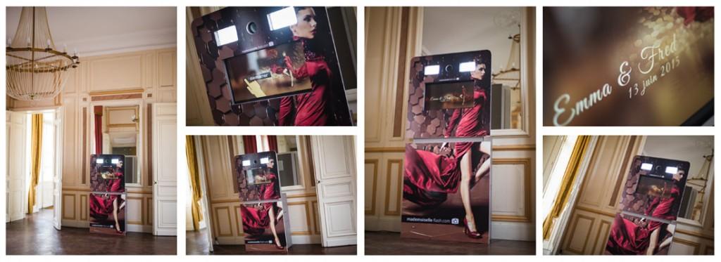 mademoiselle flash photobooth location mobilier d co mat riel chapiteaux maine et loire. Black Bedroom Furniture Sets. Home Design Ideas