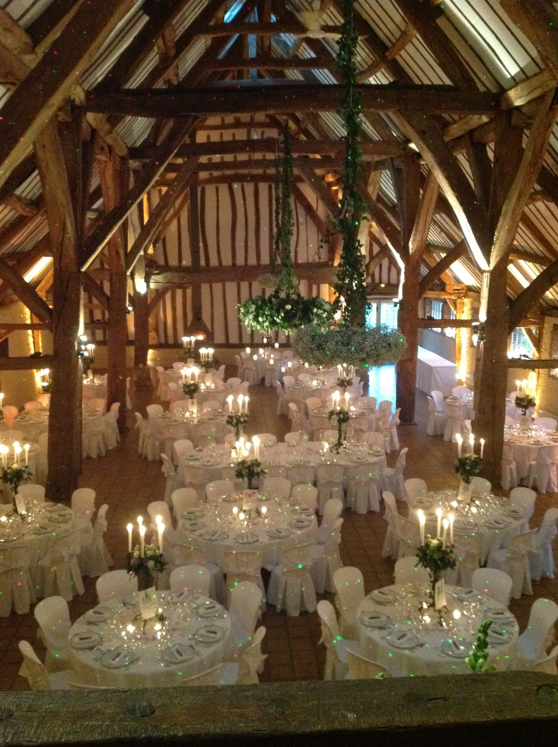 decoration salle mariage grange