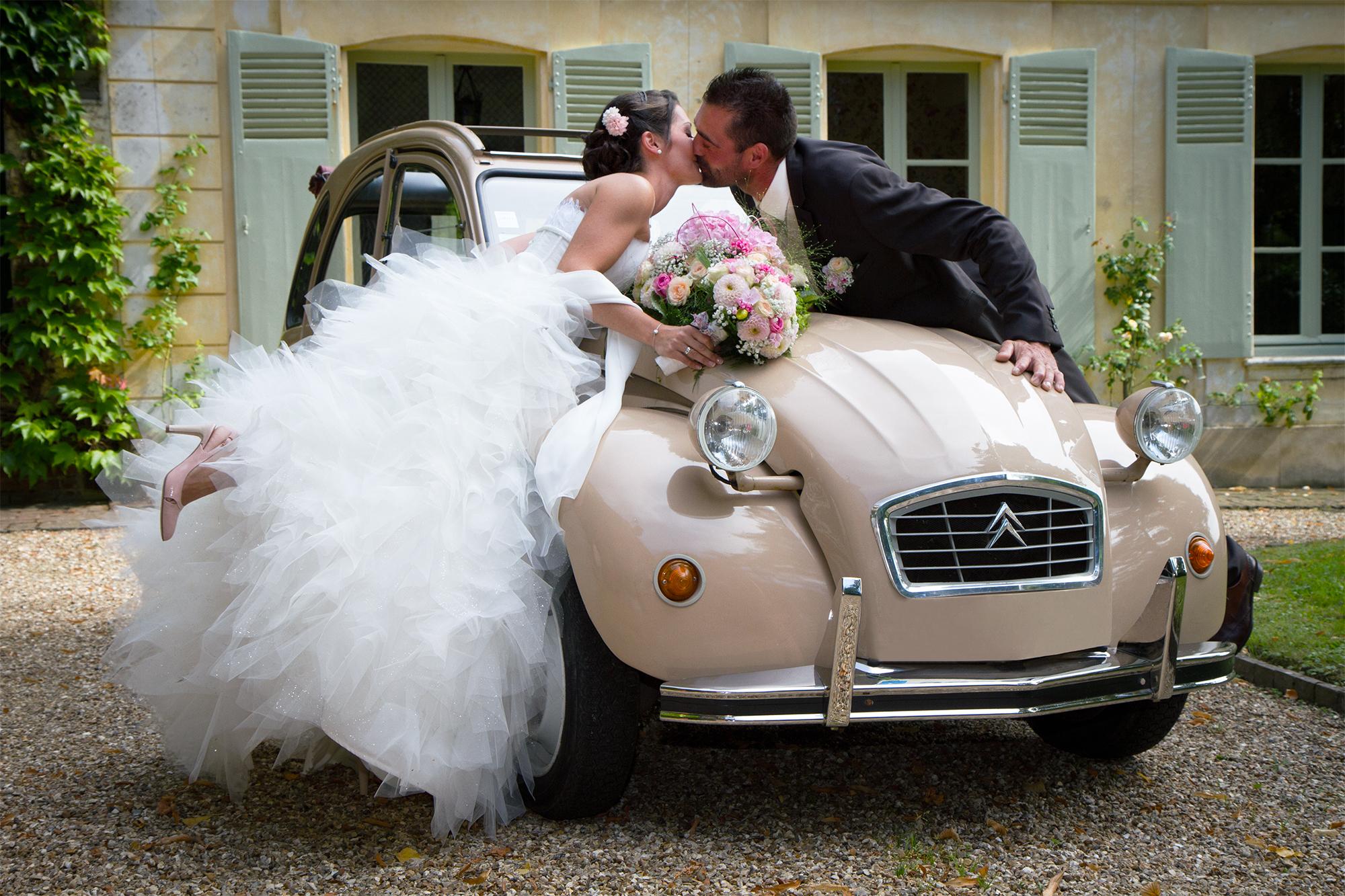 faire part mariage 2cv va48