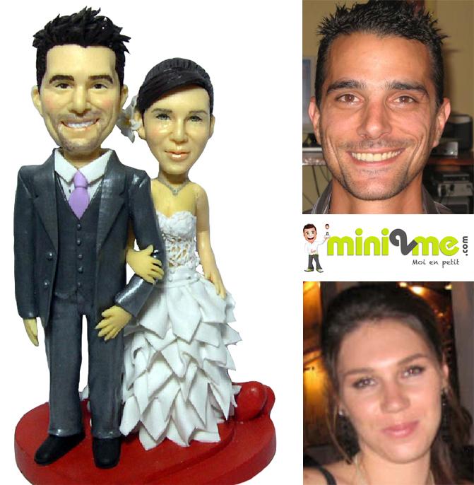 Mini2mecom Figurine De Mariage Personnalisée Idées Déco