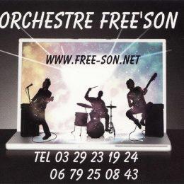 FREE'SON ORCHESTRE DE VARIÉTÉ