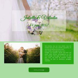 Livre d'Or de mariage en ligne