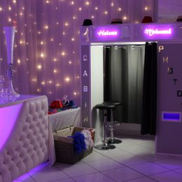 Animation mariage photobooth (cabine photos, photo montage & light painting)