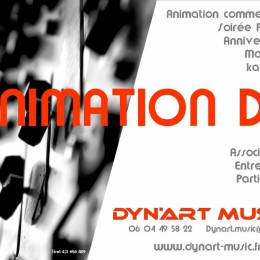 DJ ANIMATEUR ORGANISATION