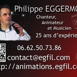 PHILIPPE EGGERMONT, CHANTEUR, ANIMATEUR, MUSICIEN