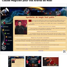 CLAUDE MAGIC SHOW MAGICIEN PARIS