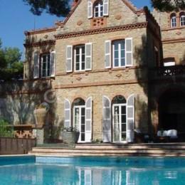 Château Vannières et Mas provençal pool&beach