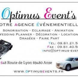 OPTIMUS EVENT'S