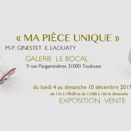 Expo Vente «Ma Pièce Unique» by MP Ginestet – Créatrice de Bijou