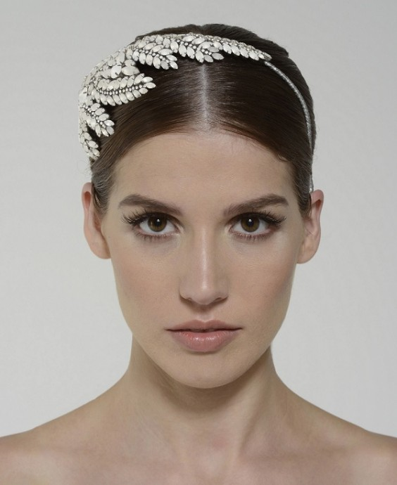 Monique Lhuillier Sandrine headpiece 690$