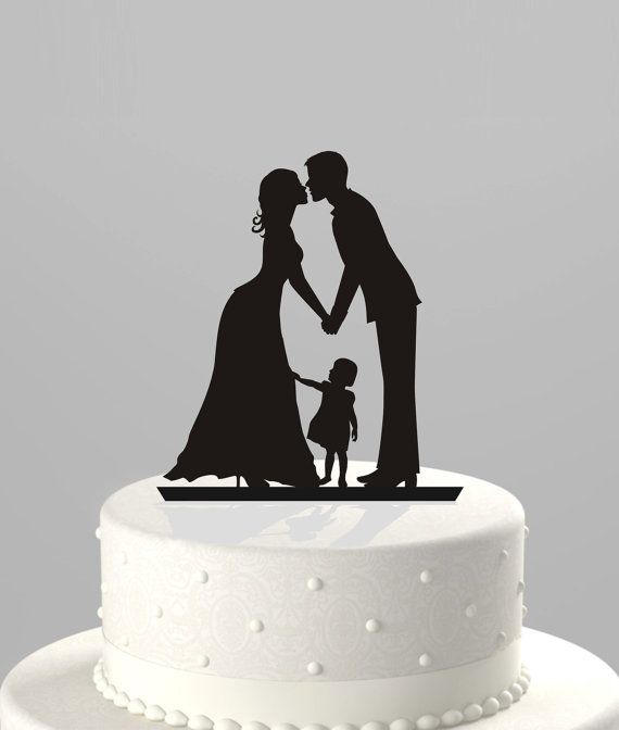 wedding cake topper mom dad baby le cake topper le d 233 qui change tout mariage 26356