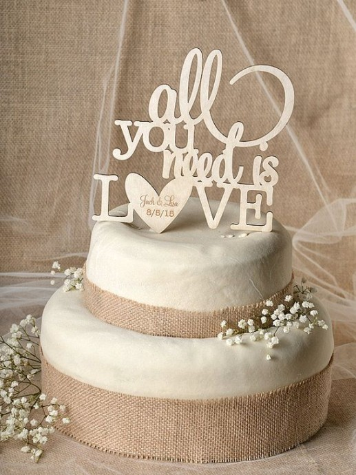 cake-topper-mariage-rustique
