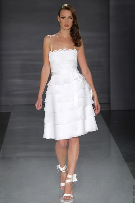 je veux une petite robe blanche pour mon mariage civil