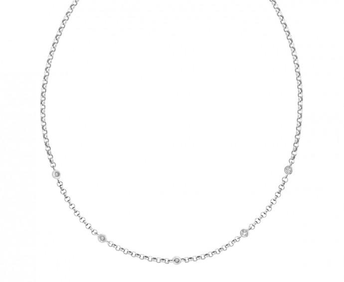 un collier en diamants pour une mari e tincelante. Black Bedroom Furniture Sets. Home Design Ideas
