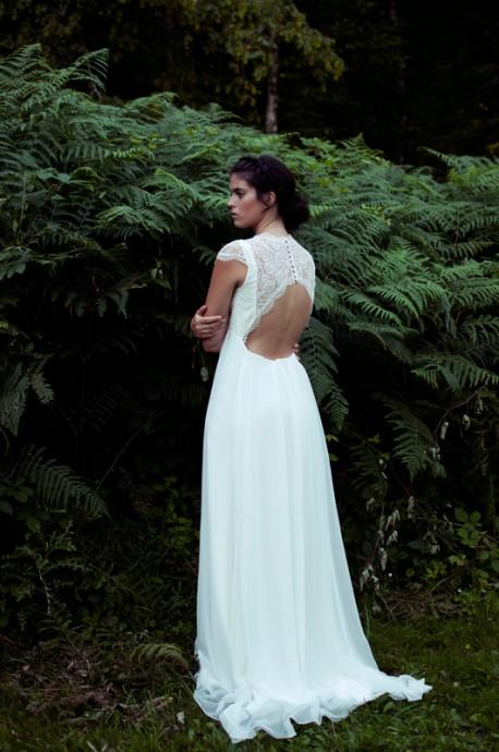 Tissu soie pour robe de mariee