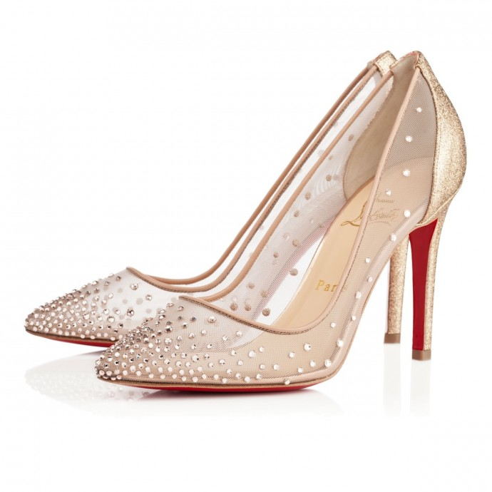 louboutin CHF 1 095,00 body strass