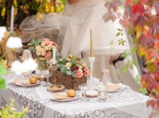 Décoration de mariage : je fais dans la dentelle - Mariage.com