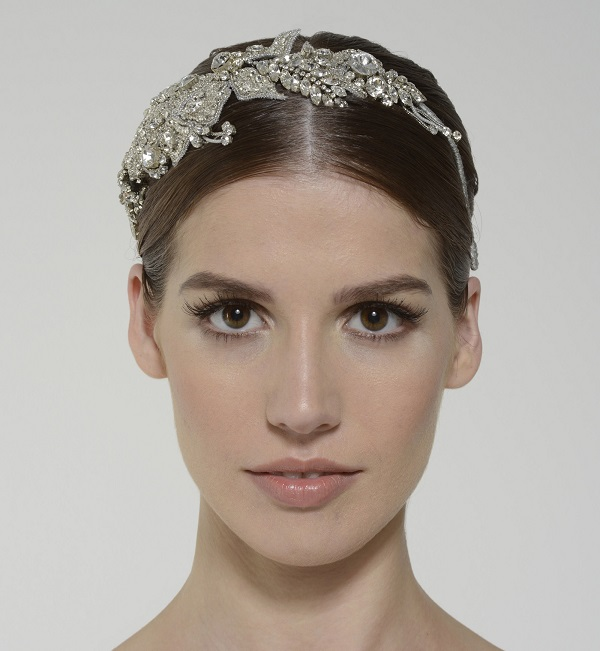 Monique Lhuillier intrigue headpiece 690$