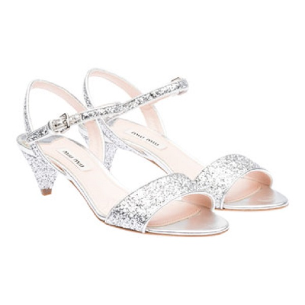 Miu Miu sandal 290eu silver