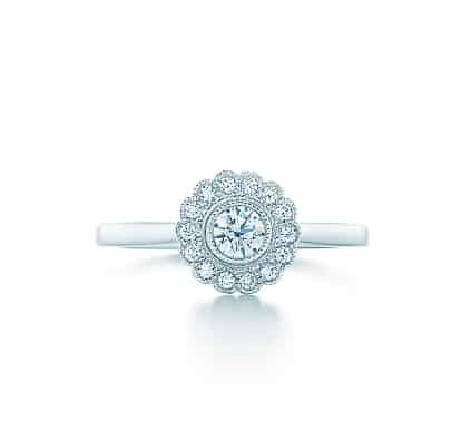 Tiffany Enchant, Bague Fleur, 3 700 euros.