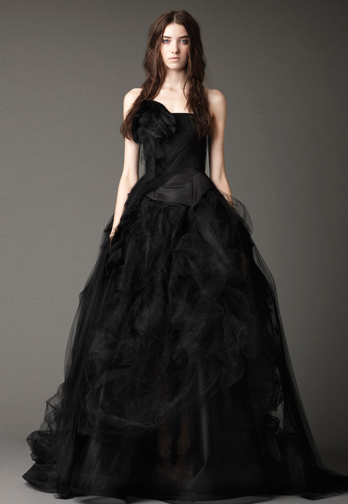 Vera wang collection automne hiver 2012 for Collection de robe de mariage vera wang