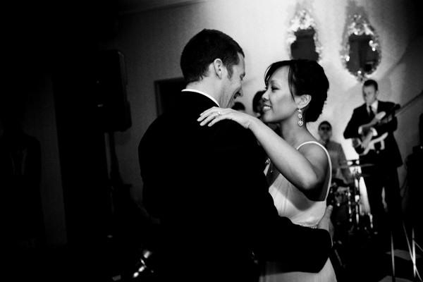 dancing brides