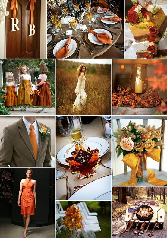 Inspiration déco pour un mariage d'automne - Mariage.com