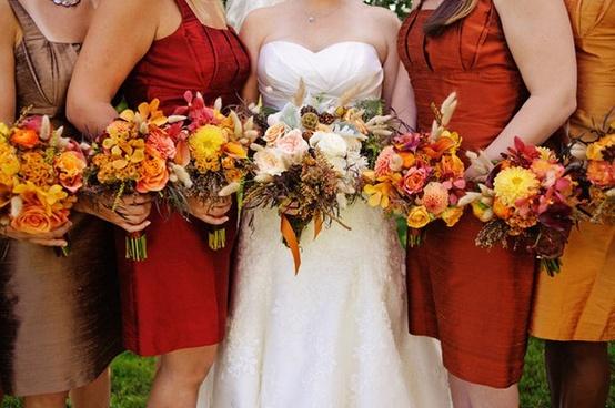 Bouquet De Mariage Saison Automne : Inspiration d�co pour un mariage d automne