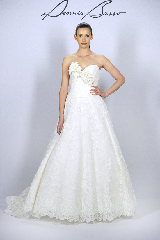 Dennis basso by kleinfeld collection printemps t 2013 for Robes de mariage dennis basso