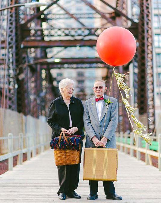 Ils font leurs photos de mariage 61 ans plus tard - 30 ans de mariage noce de quoi ...