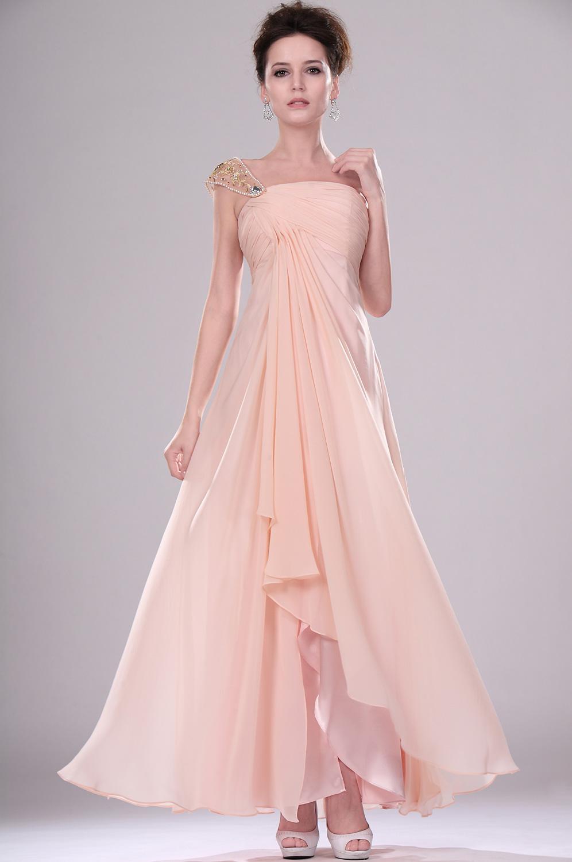 robe temoin de mariage rose pale robes de soir e site blog photo. Black Bedroom Furniture Sets. Home Design Ideas