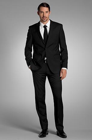 Le costume noir - Mariage.com 8510397d931