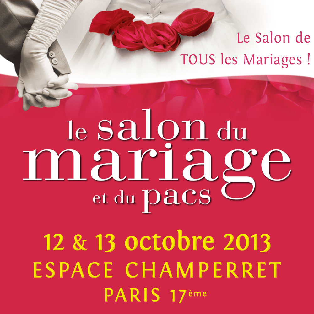 Le salon de tous les mariages l 39 espace champerret paris for Tous salons