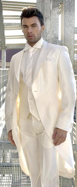 Costume mariage homme queue de pie blanc - Idée de Costume et vêtement d1016633cf7