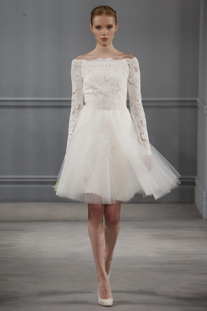Monique lhuillier collection printemps t 2014 for Monique lhuillier robes de mariage