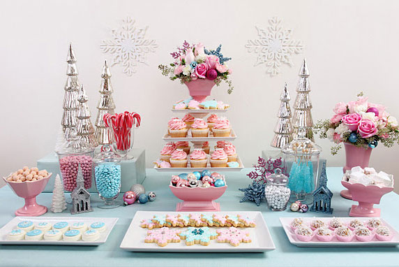 L art de confectionner sa sweet table - Deco table gourmandise ...