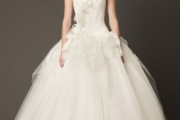 Robes de mari e des noces haute couture for Vera wang robes de mariage d hiver