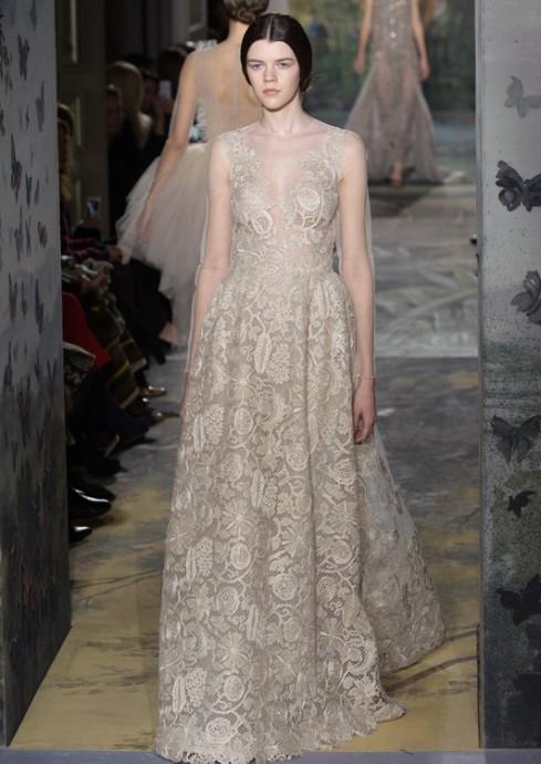 Les robes de mariée de la Fashion week Haute Couture 2014
