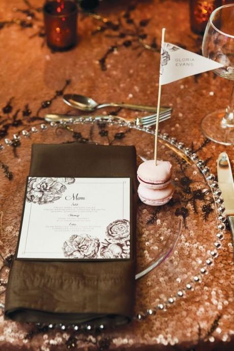 table mariage chocolat
