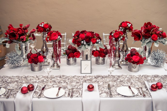 Inspiration saint valentin for Deco table st valentin