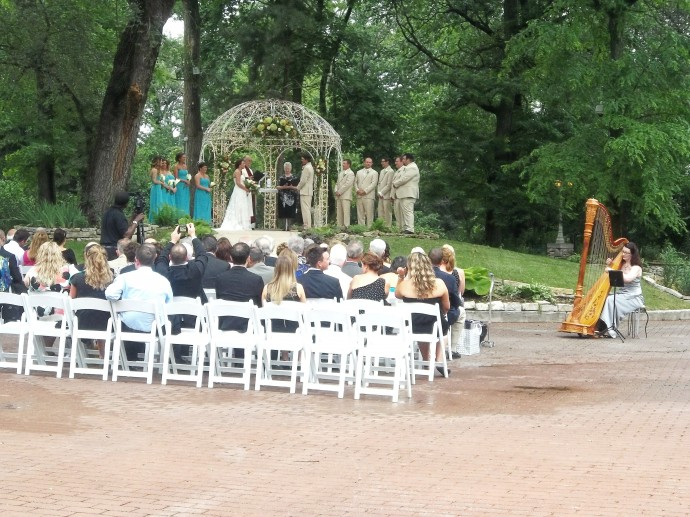 mariage musique harpiste