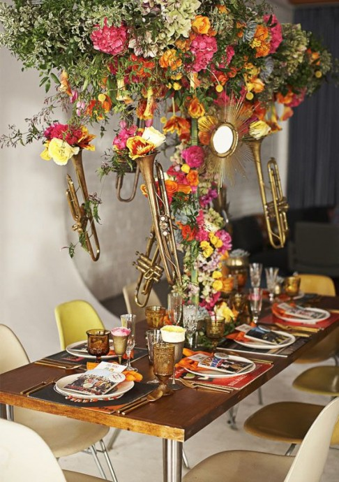 mariage musique table jazz