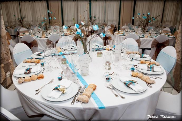 decoration salle mariage theme voyage