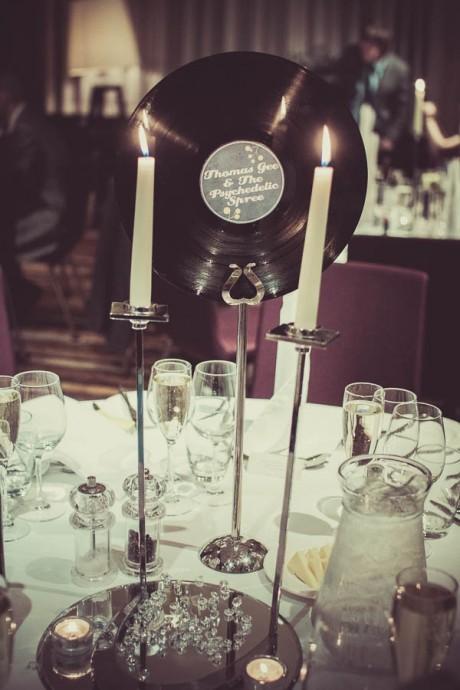Mon mariage sur le th me de la musique for 60 s decoration ideas
