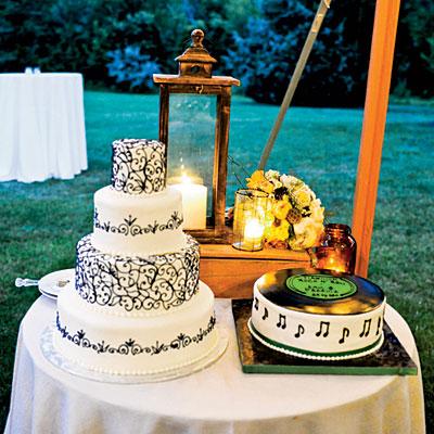 wedding cake mariage musique