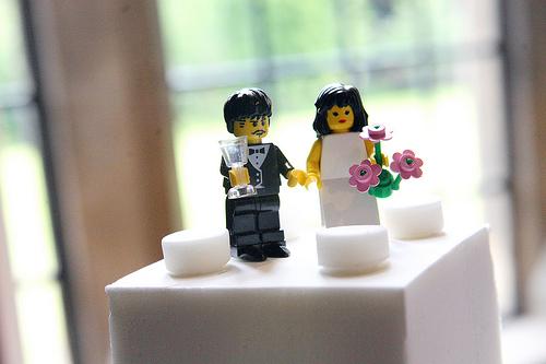 Un mariage en Lego  C'est bien plus rigolo !1