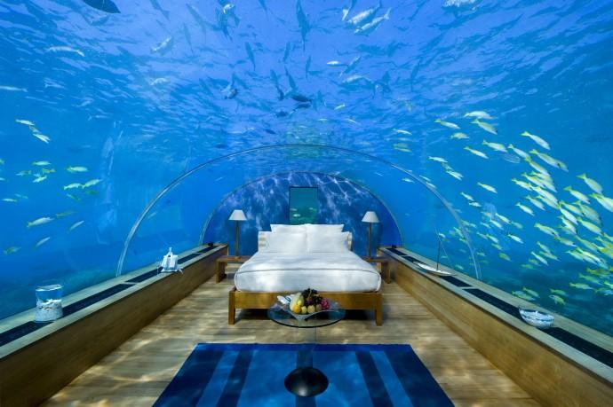 hotel le conrad aux maldives