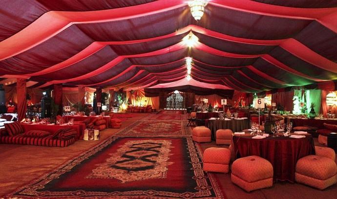 salle de mariage decoration orientale mon mariage chic l oriental - Salle Mariage Oriental Ile De France