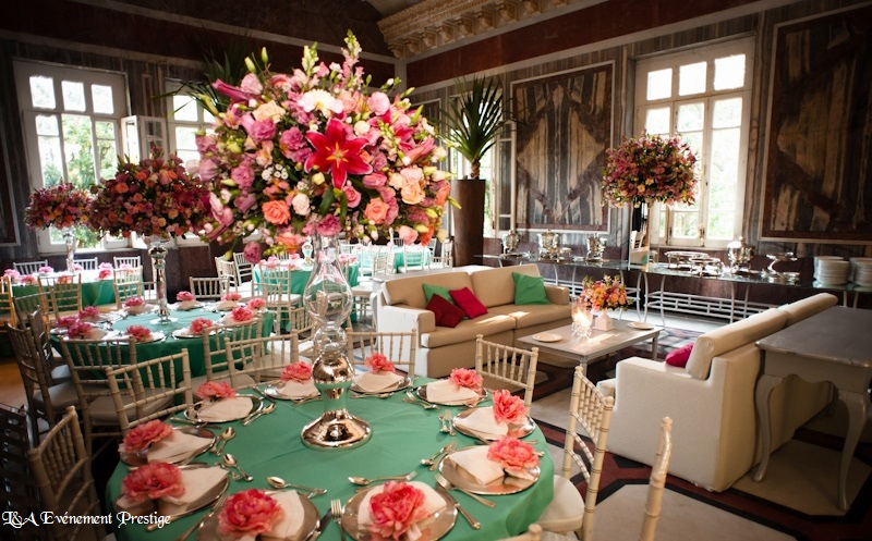 mariage rose l a event